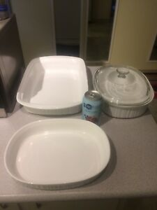 3pcs CorningWare Baking Pans Nice Shape $5