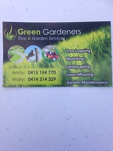 Green Gardeners Tree and Garden Services Ryde Ryde Area Preview