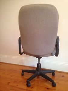 High Back Executive Fabric Office Chair Windsor Region Ontario image 3