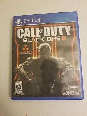 Call Of Duty  Black Ops 3 Iii Ps4  Sony Playstation 4  2015