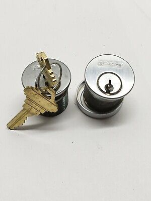 Schlage Brand Mortise Lock Cylinders Set Of 2 Locksmith