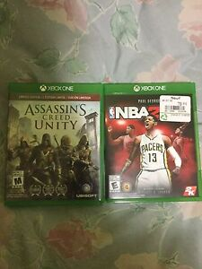 NBA2k17 et assassin's creed unity