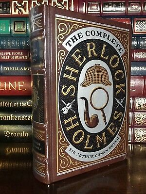 The Complete Sherlock Holmes by Arthur C. Doyle New Sealed Leather Bound Gift Ed