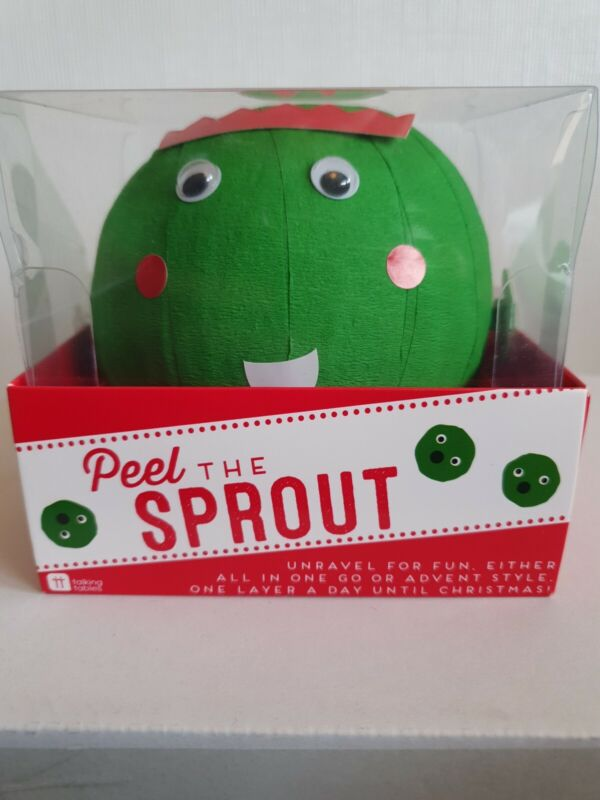 Peel The Sprout Christmas Pass The Parcel Game