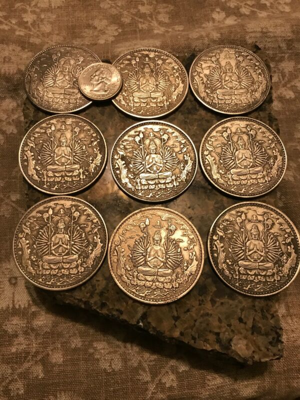 Guanyin Coin Buddha Bodhisattva