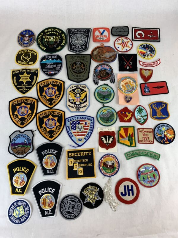 Mixed Patches Lot