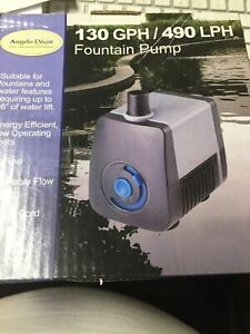 WaterFalls Garden feature pool pumps