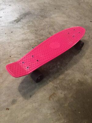 "Original Penny Board Australia 22"" Pink Skateboard Authentic. Great Condition"