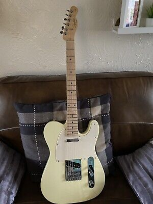 fender squier telecaster 2012 Artic White Electric Guitar
