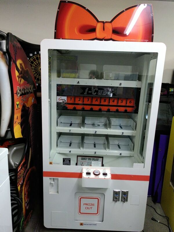 Andamiro I-Cube Arcade Redemption Machine AS IS