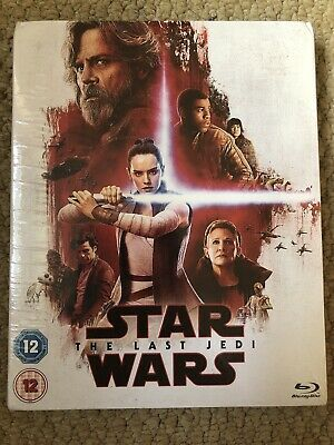 Star Wars The Last Jedi - New And Sealed In Resistance Slip Cover Blu-ray