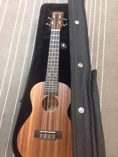 Brand new ukulele in hard case strap and tuner  Yokine Stirling Area Preview