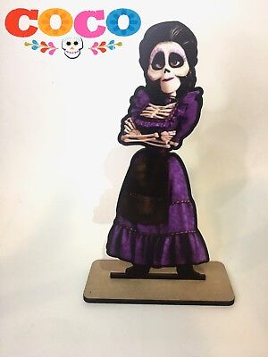 Disney Coco ~ Mama Imelda Wood Centerpiece Candy Table Party Birthday