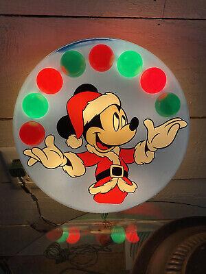 Disney Juggling Mickey Mouse Christmas Tree Topper Wall Hanger Minami