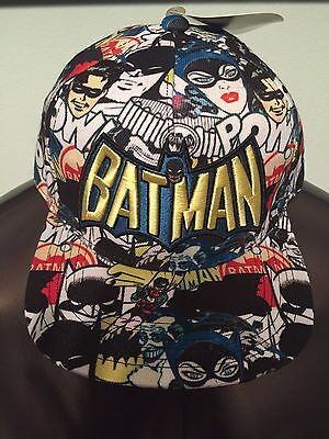 Batman Adam West Robin The Joker Suicide Squad Movie Mens New Snapback Hat Cap