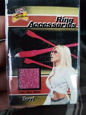 2001 Fleer WWF Divas, TERRI, Ring Accessories Event Worn Blouse
