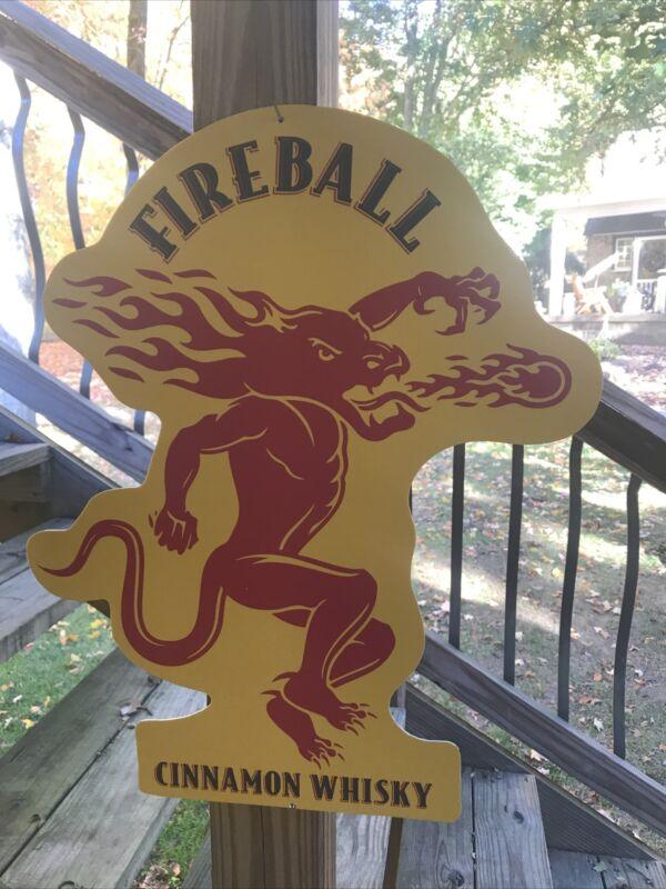 Fireball Cinnamon Whiskey Bar Restaurant Cabin Man Cave