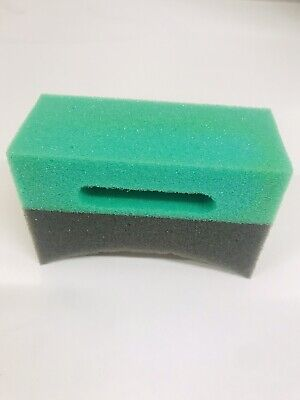 Gel-dressing (Tyre Dressing - Gel Dressing Applicator Sponge Curved Foam Pad)