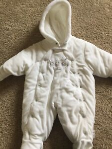 Baby Snow suit - perfect condition