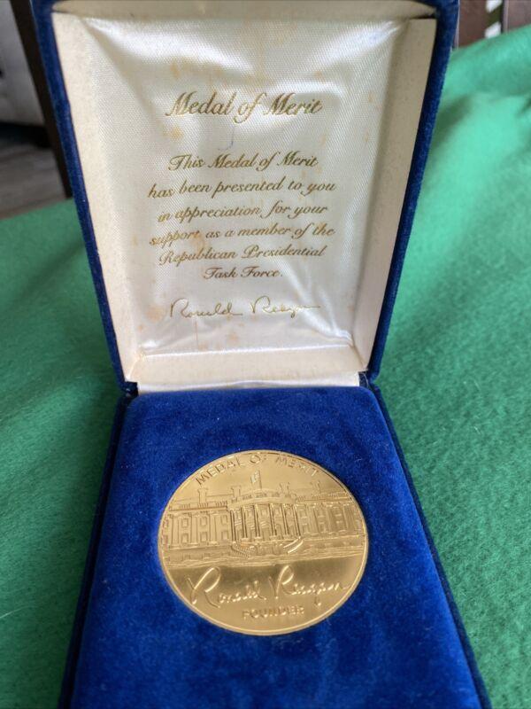 Ronald Reagan Medal of Merit Republican Presidential Task Force