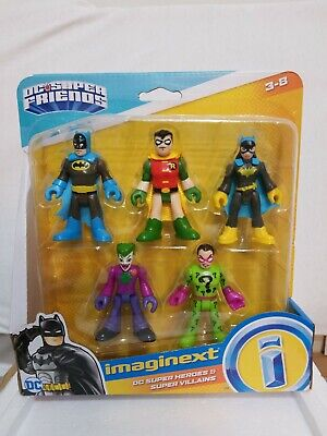 Fisher-Price Imaginext DC Heroes and Super Villains Action Figures Batman Joker