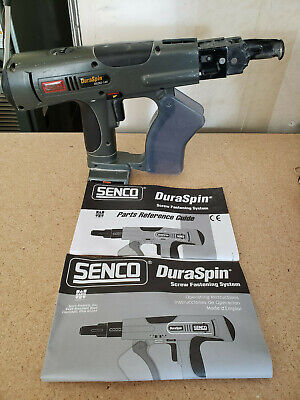 Senco Duraspin Ds202 14v Drywall Screw Gun Tested Works Perfect Free Shipping
