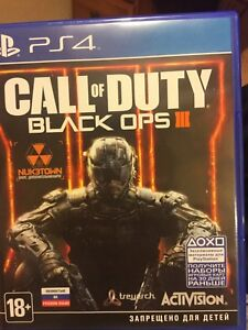 Black Ops 3 PS4 *Russian * Cheap* New*