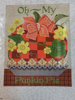Punkin Pie (NEEDLEPOINT CANVAS  M SHIRLEY    OH MY PUNKIN PIE)