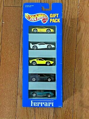 Hot Wheels Ferrari 5 Pack 1993 F40, 308, 356, 348, 250