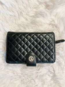 Chanel Vintage Quilted French Purse Wallet