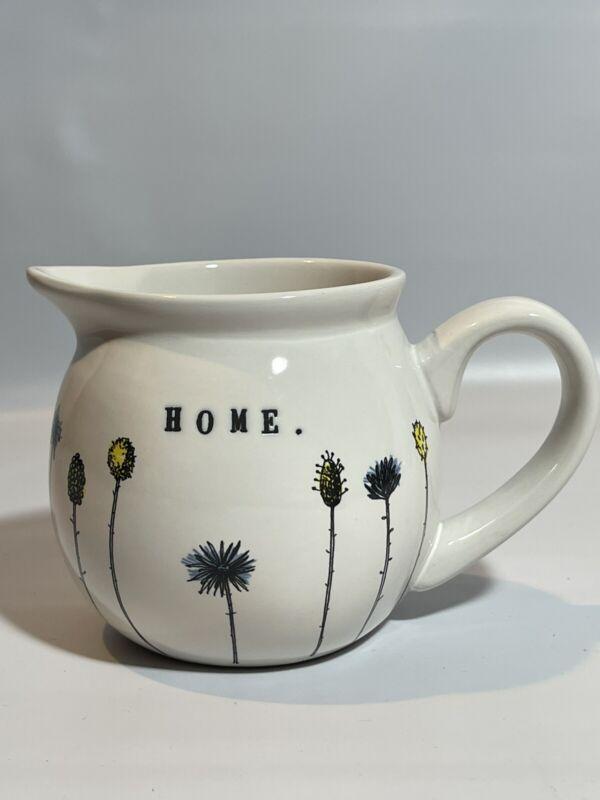 Rae Dunn By Magenta 7 Stem Wild Flowers 'Home' Creamer