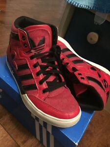 Red Adidas Size 6