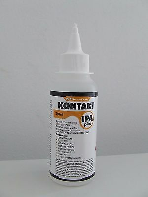 Kontakt IPA Plus Fläschchen 100ml Isopropanol Entfetter Elektronik Reiniger