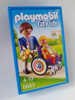 Playmobil City Life Niña Silla Ruedas Hospital 6663 Nuevo -  - ebay.es