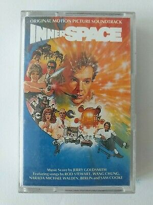 Inner Space Original Soundtrack Cassette Jerry Goldsmith