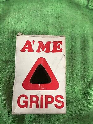 AME old school BMX Grip Savers handlebar bar ends PAIR *MADE IN USA* HOT PINK