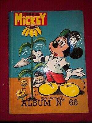 [8762 - E2] Le journal de Mickey Trimestriel - N°66 Album - Relié Walt Disney