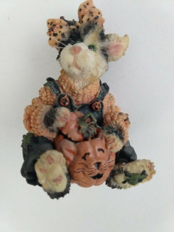 Boyds Bears and Friends Spooky Treats Ceramic Halloween Pawlene Prowler