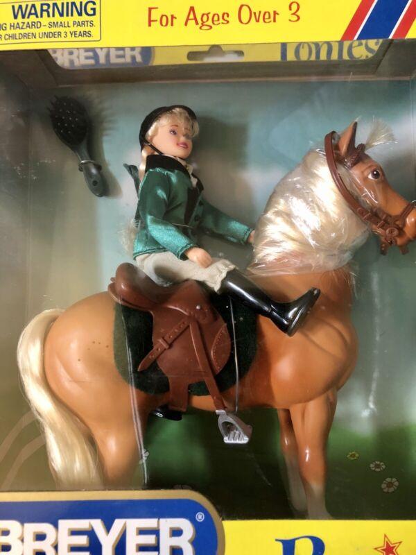 Breyer Ponies & Rider Doll Set #7013 Named Equestrienne NIB Vintage