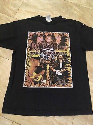 Rush 30th Anniversary Tour T Shirt