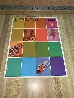 1969 Mattel Toys Dealer Catalog Hotwheels Barbie