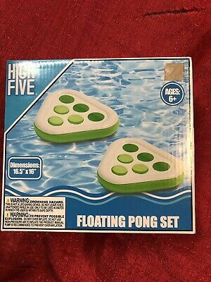 Pool Party Beer Pong Drinking Game Beach Spring Break Summer Floating 2 Pk GREEN (Pool Party Floats)