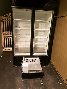 2 door commercial fridge like new with 1 year Wty & free deliver Belfield Canterbury Area Preview