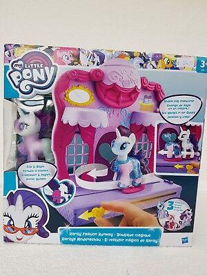 My Little Pony Friendship is Magic Rarity Fashion Runway Playset, Brand New.