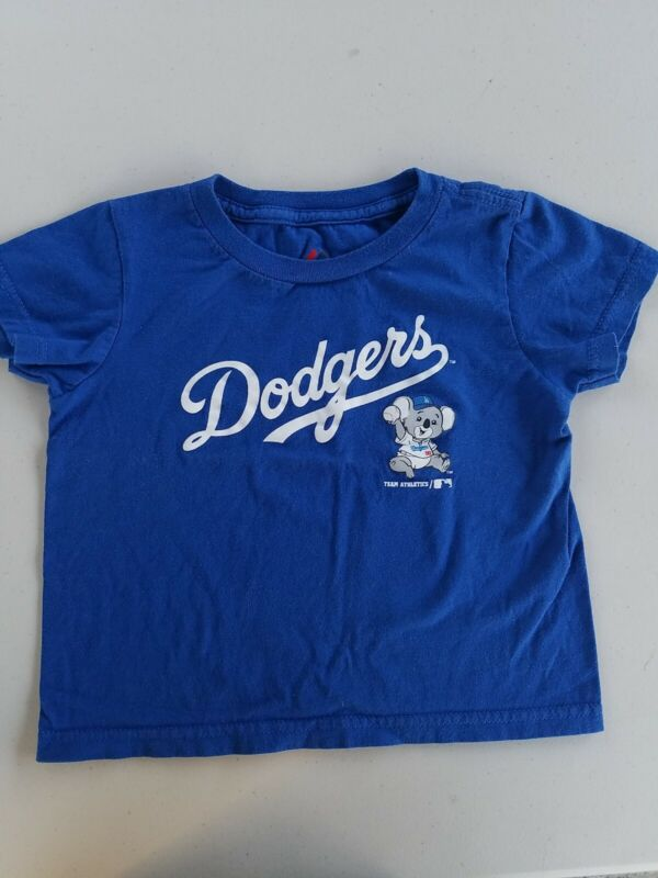 Los Angeles Dodgers Toddler T Shirt 3T Majestic