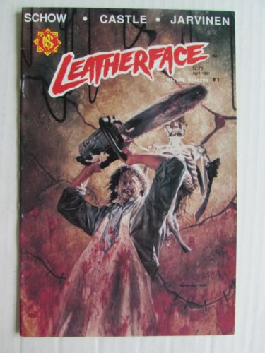 Leatherface #1 (1991) Northstar Comics VF 8.0 Texas Chainsaw EE821
