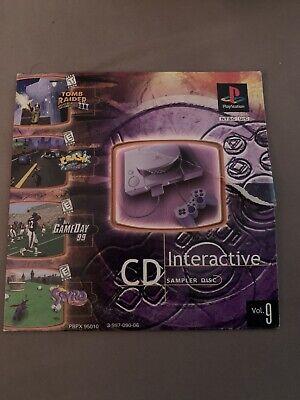 CD Interactive Sampler Disc Volume 9 PlayStation 2