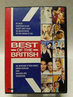 Best of the British (DVD, 2012, 10-Disc