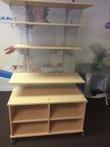Two sided product shelf