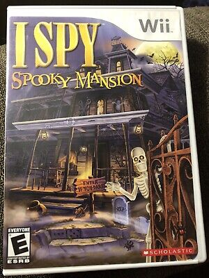 I Spy Spooky Mansion Nintendo Wii Complete With Manual In Original Case Rated E